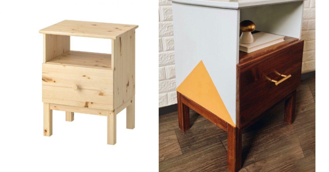 Ikea Tarva Night Stand Hack Thrifted Nest